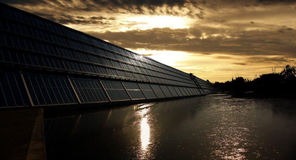 calentamiento global paneles solares