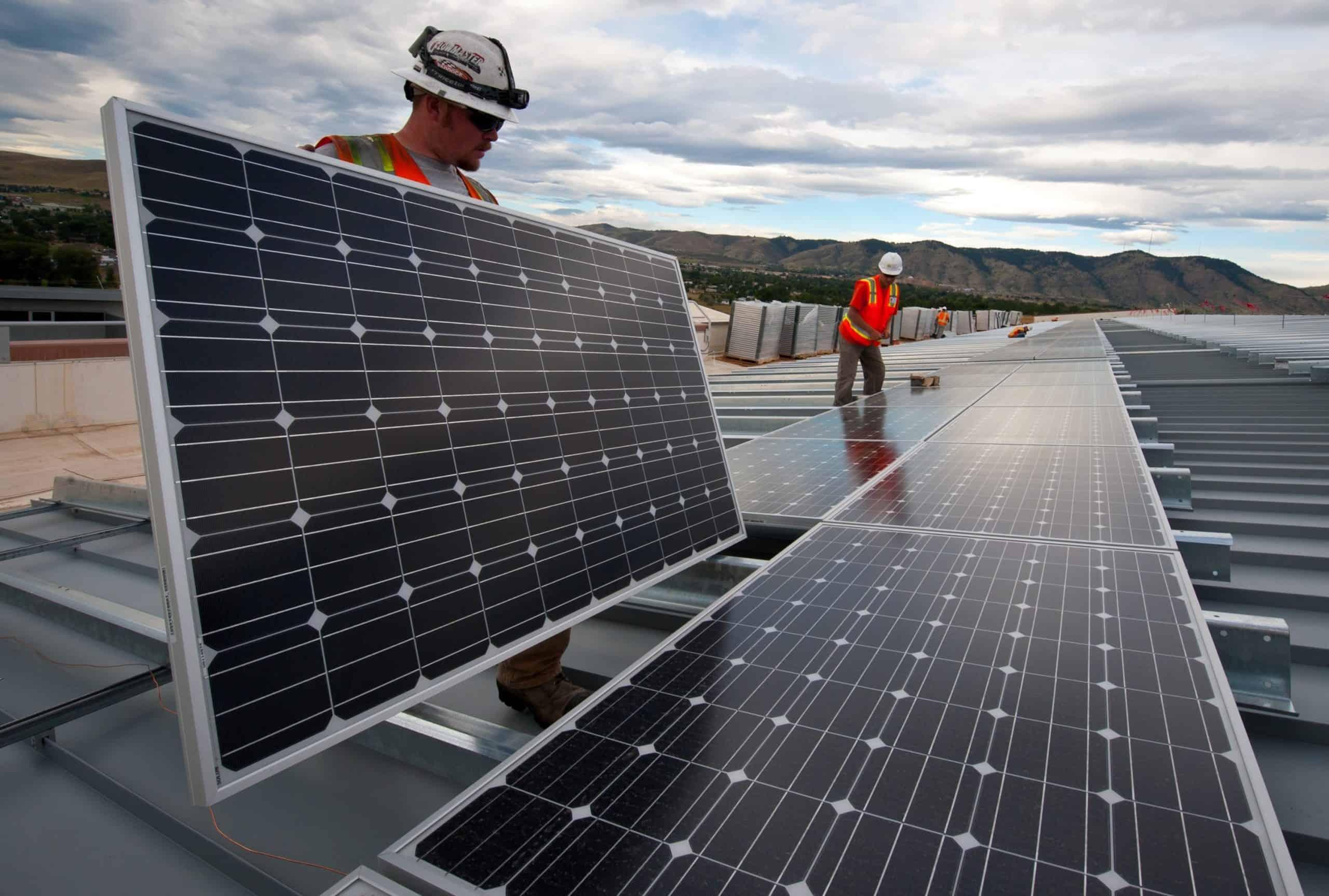 errores en la instalación de paneles solares