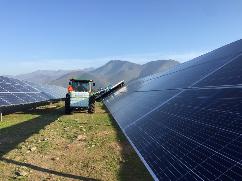 limpiar paneles solares