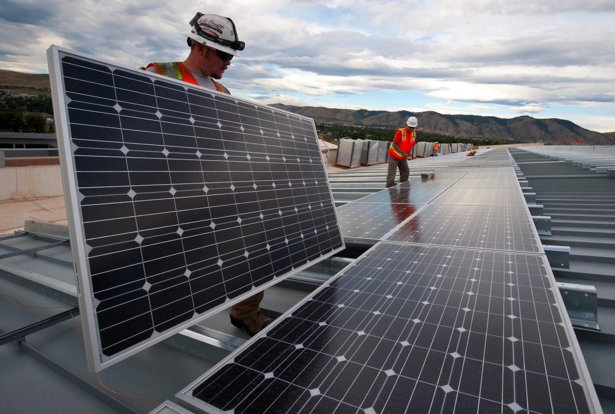 rentar paneles solares