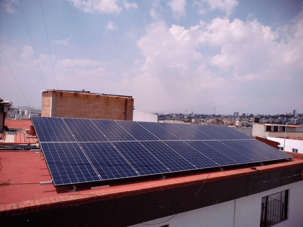 arrendamiento de paneles solares