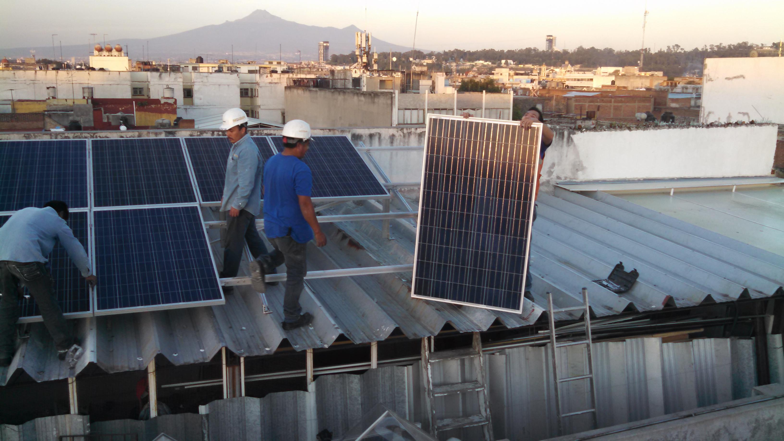 Alquiler de terrenos para paneles solares en México