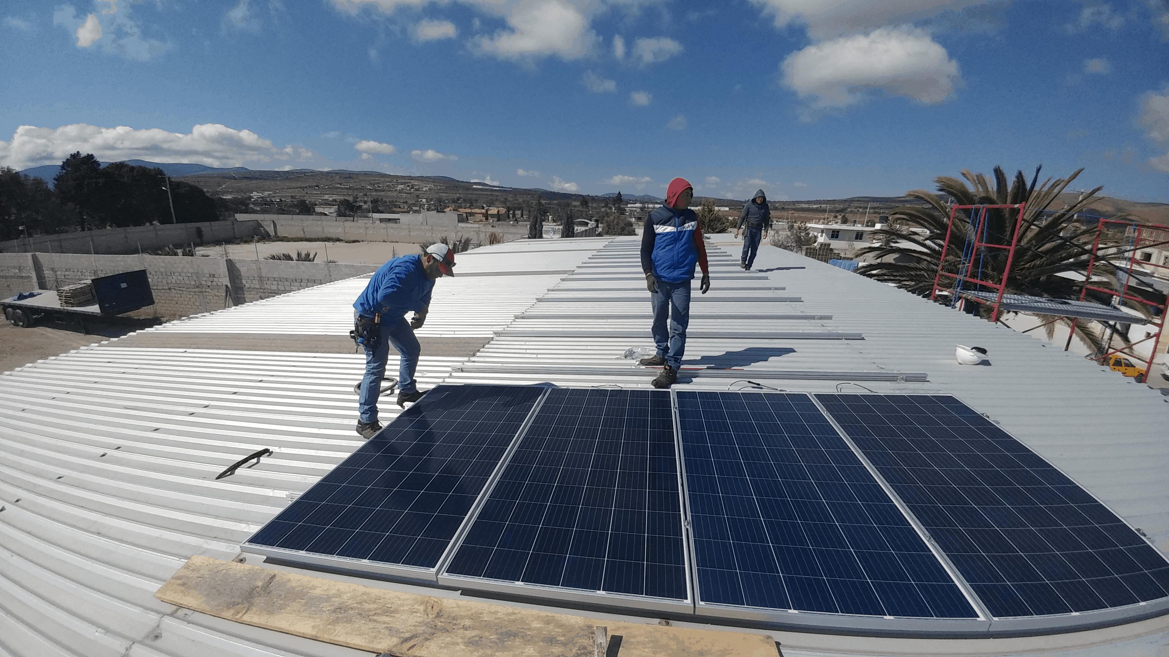paneles solares Puebla