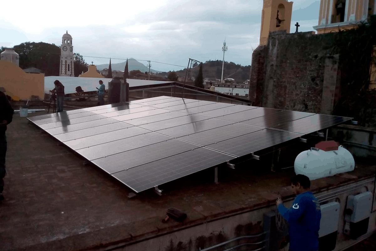 Energía solar para industria y comercios